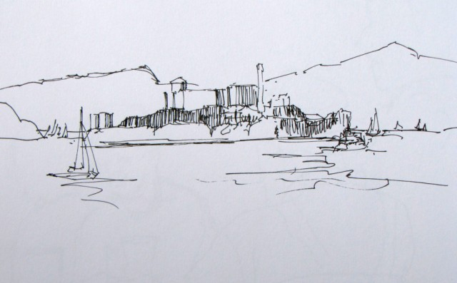 sketchbook alcatraz