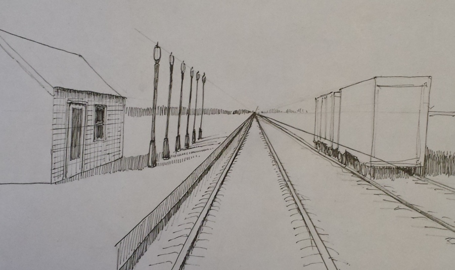 One Point Perspective – Part 2 – Love to DrawEasy One Point Perspective Drawing
