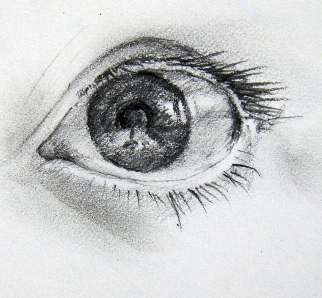 Drawing The Eyes Love To Draw