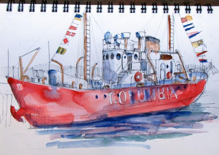 Astoria Light Ship